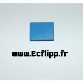 Pad bleu autocollant