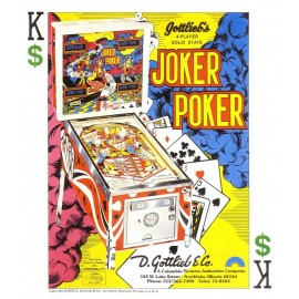 Set décor Gottlieb Joker Poker