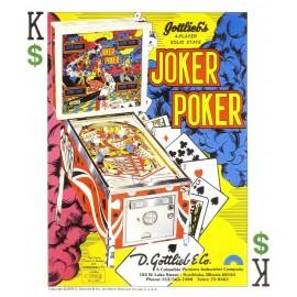 Set décor Gottlieb Joker Poker