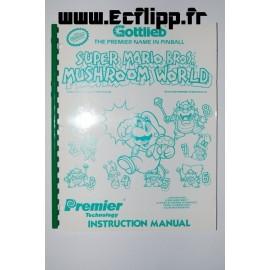 Manuel flipper Mario Mushroom