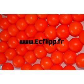 Balle plastique rouge