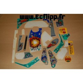 Kit décors Safecracker