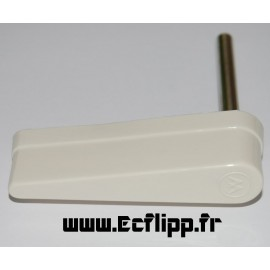 Flipper blanc  Williams logo W