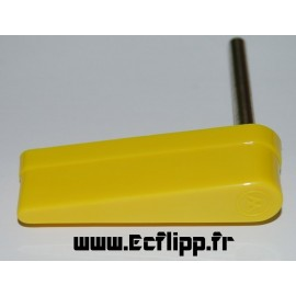 Flipper jaune Williams logo W