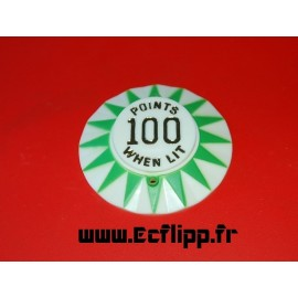Sun cap 100 when lit en doré
