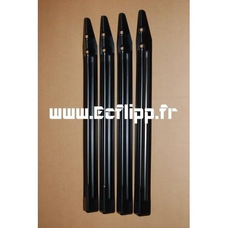 Pieds noirs (set de 4) Bally Williams C-10843-2