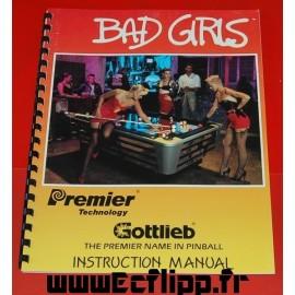 Manuel instructions Bad Girls