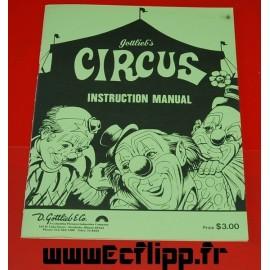 Manuel instructions Circus
