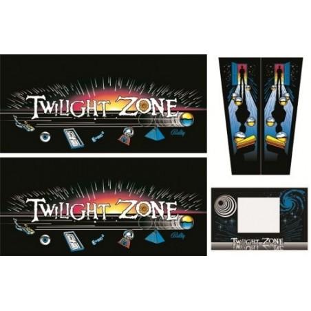 Set décal de caisse Twilight Zone