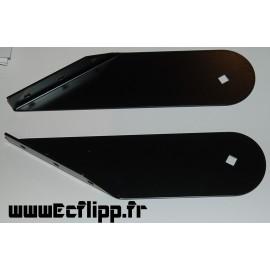 Charnières  B /W caisse/ fronton noires