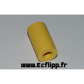 Caoutchouc tubulaire jaune 7/8''