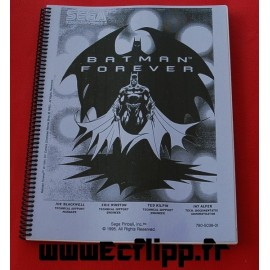 Manuels d'instruction Batman Forever