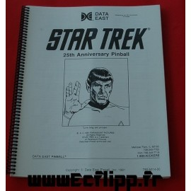 Manuels d'instruction Star Trek