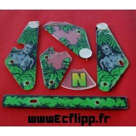 Plastique set partiel Congo