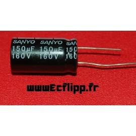 Condensateur 150µf 160v