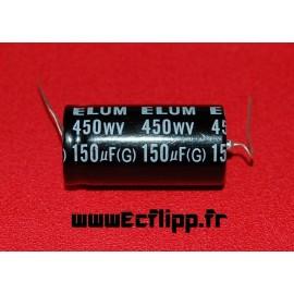 Condensateur 150µf 450v