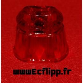 """Post GTB siamese rouge translucide 1"""""""