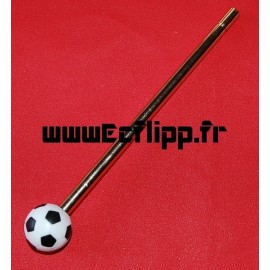 Lance bille ballon de football