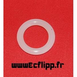 """1""""  silicone transparent"""