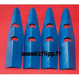 Protecteurs de caisse Be bleus set de 4