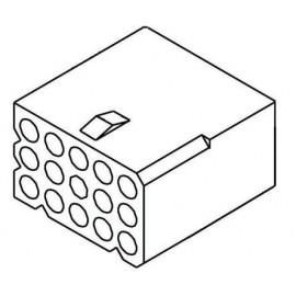 molex 0.062 15p Femelle