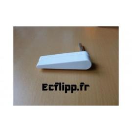 Flipper blanc sans logo