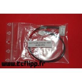 Connecteur ALIM CPU Gottlieb sys 1