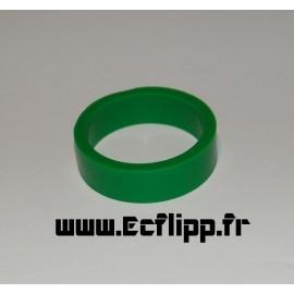 """cacaoutchouc de flipper silicone 1/2*  1-1/2"""" vert"""