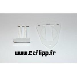 Ejecteur GTB complet blanc