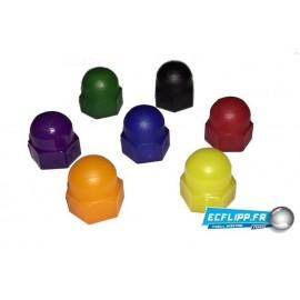 Nut plastique yelllow