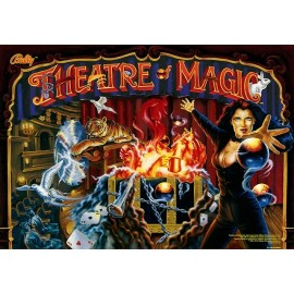 3D Translite Theatre of Magic
