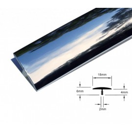 T-mold Chrome 18mm