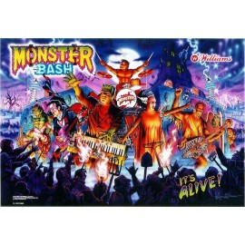 Translite Monster Bash  ( Williams 1998 )