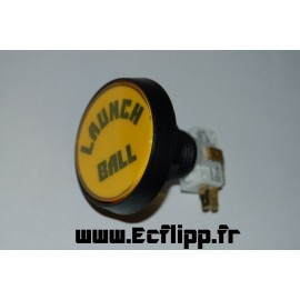 "Bouton "" Launch ball "" jaune"