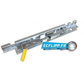 Lockdown bar lever receiver assy