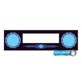 Speaker panel white water