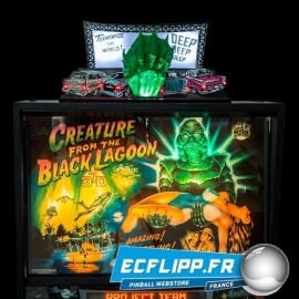 Topper Creature from the black lagoon