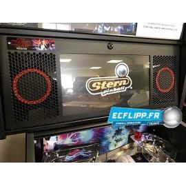 Stern Spike 2  speaker grill set red