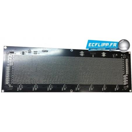 Dot matrix 5V  ambre LED 128*32