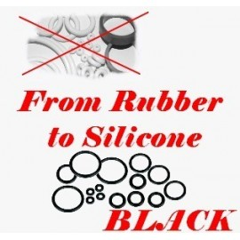 Option for silicone on rubber kit BLACK
