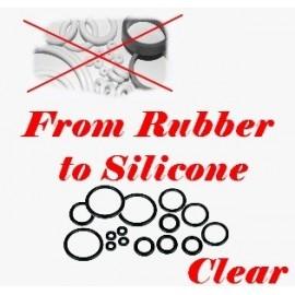 Option silicone pour kit caoutchouc