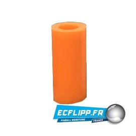 "1-1/16"" silicone Orange sleeve"