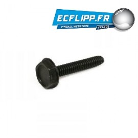 Data East/Sega/Stern Black Microswitch Screw 237-5937-02