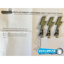 AC/DC lightning  bolt kit 502-6799-00