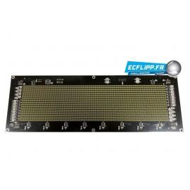 Afficheur dot matrix 5V Blanc LED 128*32