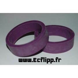 Caoutchouc de flipper Violet
