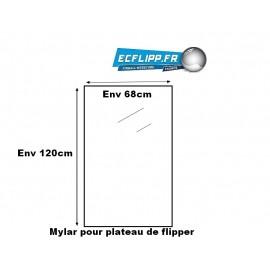 Mylar pour plateau 4ft ( L120cm x l 68 cm )