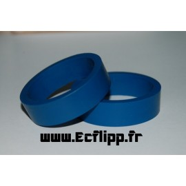 Caoutchouc de flipper Bleu