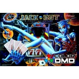ColorDMD afficheur LCD pour flipper Jack*Bot