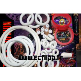 Kit  silicone Guns n' roses ( LE , CE ) Jersey Jack Pinball